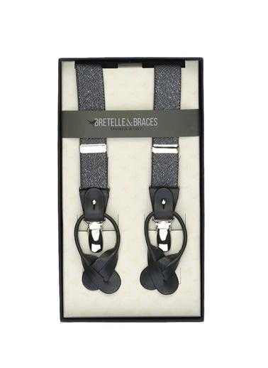 Bretelle & Braces Pantolon Askısı Gri